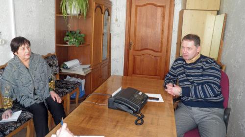 Прямая линия с главным врачом Виталием Алексеевичем Шараповым