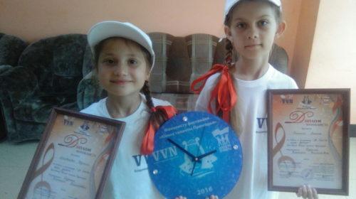 Полина и Евдокия выступили на сцене Феско-Холла