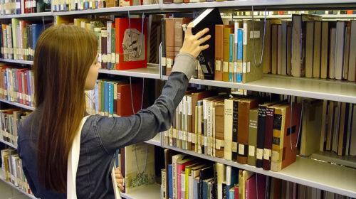 В библиотеке светло, и есть что почитать